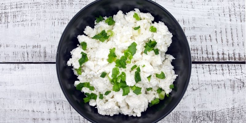 Easy vegan cottage cheese   Recipe card