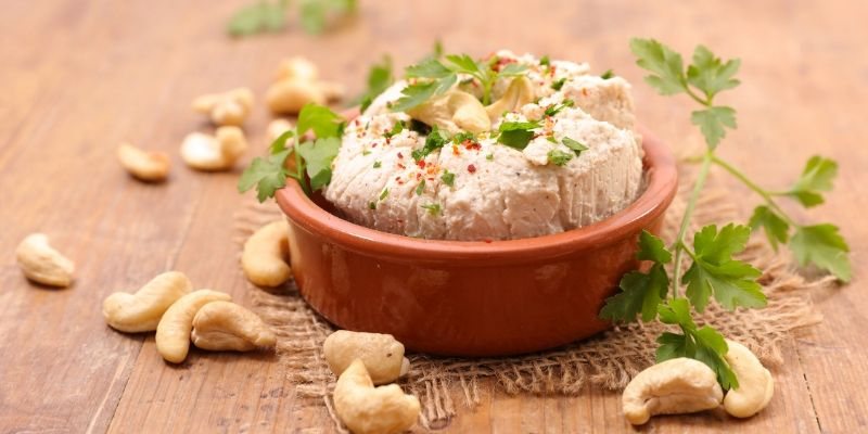 Vegan cottage cheese with cashews   Recipe card